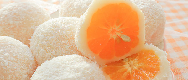 过年吃了它,一整年都大吉大利!福气满满的「砂糖橘大福」