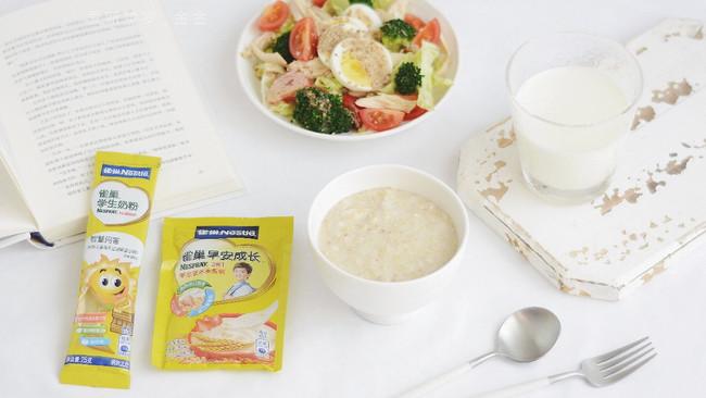 雀巢学生早餐:燕麦杂粮粥的做法
