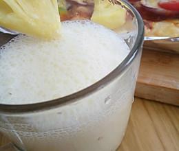 菠萝季之菠萝酸奶的做法