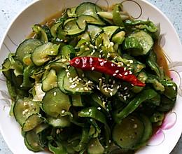 辣子炒黄瓜的做法