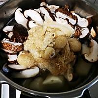 竹荪山药菌菇鸡汤#秋天怎么吃#的做法图解6