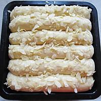 牛奶杏仁排包的做法图解9