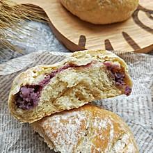 奶香芋泥全麦面包#美味烤箱菜,就等你来做!#