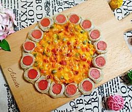 手抓饼做【芝心披萨】的做法