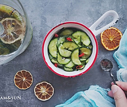 一夜渍水果鱼露酸黄瓜夏日凉菜#童年不同样,美食有花样#的做法