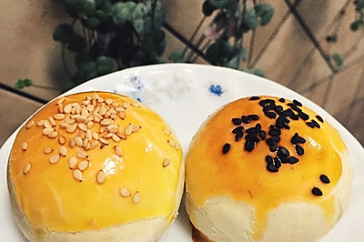 蛋黄酥—低糖莲蓉(22只)