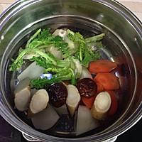 五行蔬菜汤的做法图解3