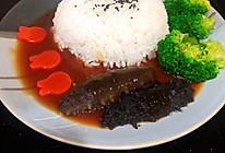 #美食视频挑战赛#鲍汁海参捞饭的做法