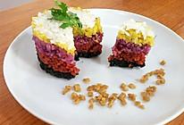 壮乡三月三五色糯米饭的做法
