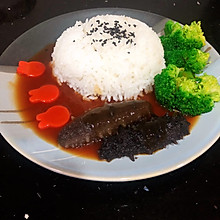 #美食视频挑战赛#鲍汁海参捞饭