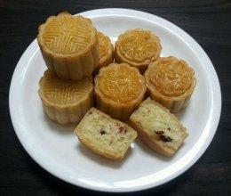 广式月饼~椰蓉.蔓越莓.豆沙馅的做法