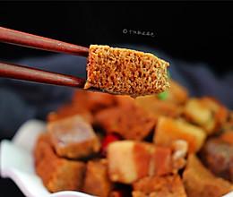 #精品菜谱挑战赛#五花肉炖冻豆腐的做法