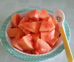 #夏日素食#蜂蜜木瓜的做法