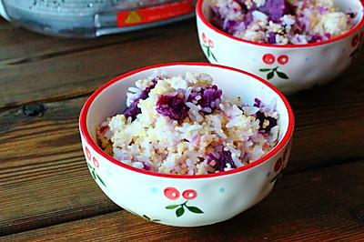 黄金紫薯米饭