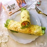 咖喱鸡蛋灌饼#安记咖喱快手菜#