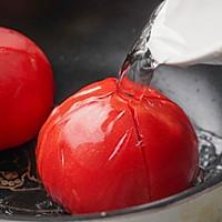 日食记 | 番茄酸汤虾滑的做法图解4