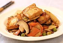 八珍素豆腐的做法