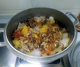 青海炕锅羊肉的做法