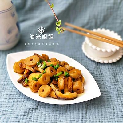 香菇焖小素肠(面筋)