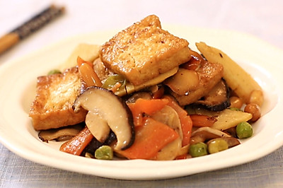 八珍素豆腐