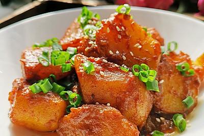 腐乳烧土豆
