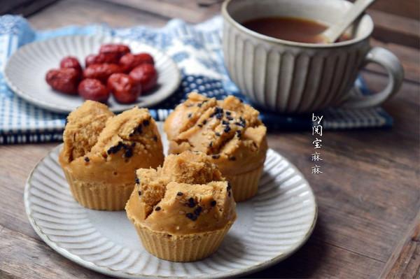 快手点心、早餐之红糖开花发糕的做法