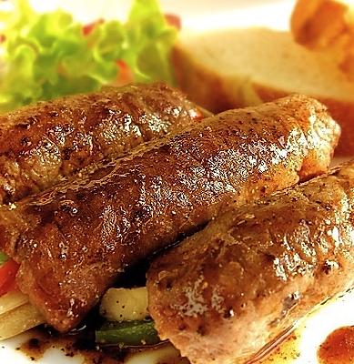 红酒汁牛肉卷的做法