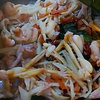 荷叶红枣子姜蒸青养的做法图解9