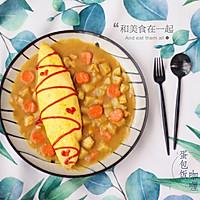 我的拿手菜——咖喱蛋包饭的做法图解18