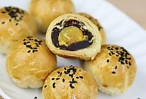 【番茄自制美食】一颗颗金黄的中式小点精灵——蛋黄酥的做法