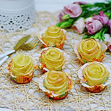 苹果玫瑰卷#美味烤箱菜,就等你来做!#