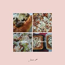 海鲜烤肉披萨