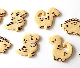无需模具做可爱小恐龙饼干 快乐假日亲子烘焙的做法