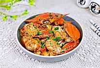 #合理膳食 营养健康进家庭#红烧梭子蟹的做法