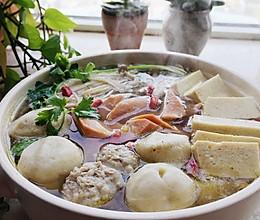 菌菇丸子汤的做法