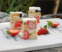 超详细步骤一试成功的雪花酥冻干草莓雪花酥的做法