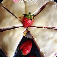 草莓芒果千层蛋糕的做法图解19
