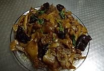 白菜木耳肉炒面的做法