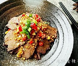 凉拌香辣牛肉的做法