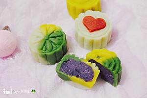 紫薯桃山皮月饼【图片】