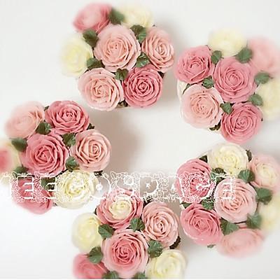 美轮美奂的韩式裱花蛋糕(cupcake版)