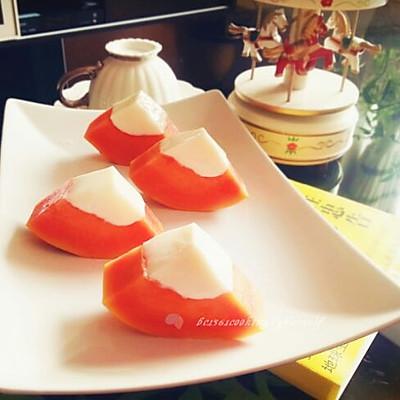 木瓜牛奶冰冻