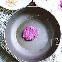 健身减脂 无油紫薯鸡胸肉汉堡的做法图解5