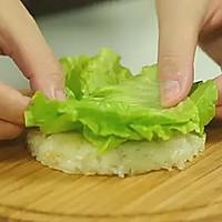 【微体】活力双倍!牛肉米汉堡的做法图解15