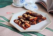 #橄榄中国味 感恩添美味#枣泥核桃糕的做法