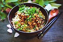 花椒芽肉末米粉的做法