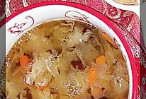银耳红枣枸杞汤的做法