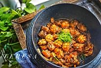 #晒出你的团圆大餐#鲍鱼仔啫啫排骨煲的做法
