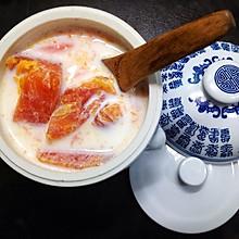 #梅太厨房#木瓜炖奶