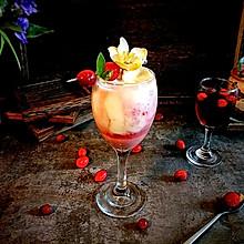 """""""莓""""味酸奶莓果飲#百變莓小姐#"""